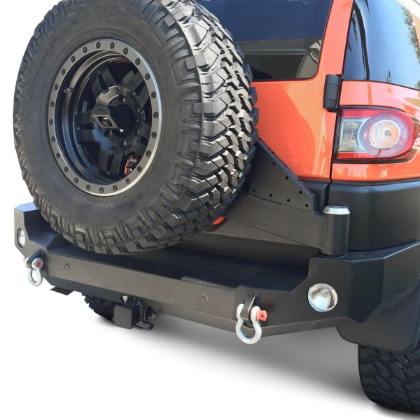 Expedition One® - Trail Series Full Width Rear HD Black Powder Coat Bumper