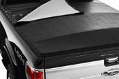 Image may not reflect your exact vehicle! Extang® - BlackMax™ Snap Tonneau Cover, Open Front Section