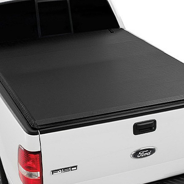 Image may not reflect your exact vehicle! Extang® - Express Tonno™ Roll-Up Tonneau Cover,  Installed