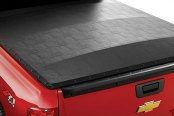 Image may not reflect your exact vehicle! Extang® - FullTilt™ Hinged Snap Seals Tonneau Cover, Installed