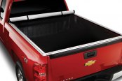 Image may not reflect your exact vehicle! Extang® - FullTilt™ Hinged Snapless Seals Tonneau Cover, Open