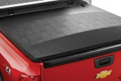 Image may not reflect your exact vehicle! Extang® - FullTilt Tool Box™ Hinged Snapless Seals Tonneau Cover, Installed