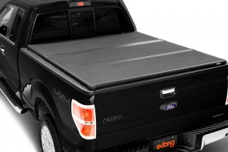 Image may not reflect your exact vehicle! Extang® - Solid Fold™ Tri-Fold Tonneau Cover, Installed