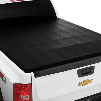 Image may not reflect your exact vehicle! Extang® - Trifecta Signature™ Tri-Fold Tonneau Cover, Installed