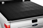 Image may not reflect your exact vehicle! Extang® - Trifecta Tool Box™ Tri-Fold Tonneau Cover, Installed