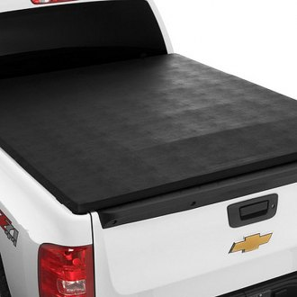 Image may not reflect your exact vehicle! Extang® - Trifecta™ Tri-Fold Tonneau Cover, Installed