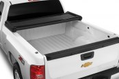 Image may not reflect your exact vehicle! Extang® - Trifecta™ Tri-Fold Tonneau Cover, Open