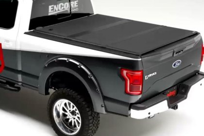 Extang® Solid Fold 2.0™ Hard Tri-Fold Tonneau Cover at SEMA 2016 (HD)