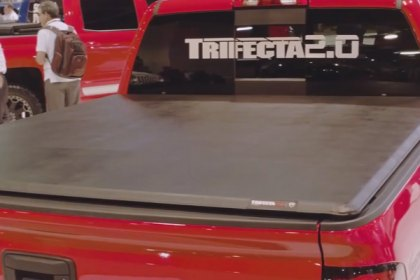 Extang® Trifecta™ Tri-Fold Tonneau Cover at SEMA (Full HD)