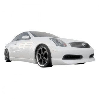 Extreme Dimensions® - I-Spec Style Front Lip Under Spoiler Air Dam (Unpainted)