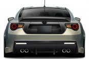 Carbon Creations® - 86-R Style Fiberglass Wide Body Rear Bumper Cover