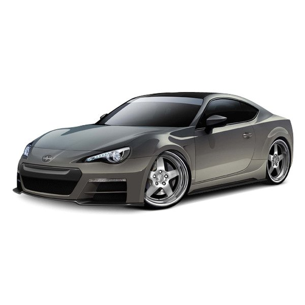 Carbon Creations® - 86-R Style Fiberglass Wide Body Kit
