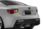 Carbon Creations® - 86-R Style Fiberglass Rear Bumper Cover
