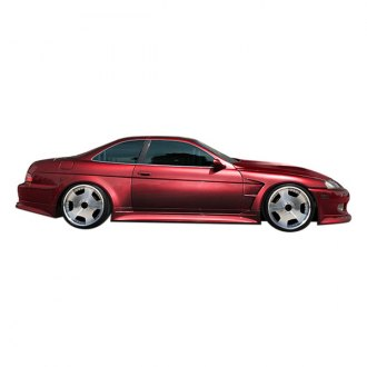 Duraflex® - V-Speed Style Wide Body Side Skirts