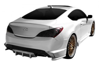 Duraflex® - TP-R Style Rear Lip Spoiler with Diffuser