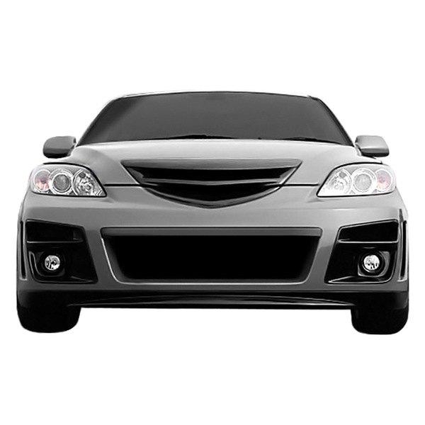 duraflex u00ae 107761 mazda 3 2004 2008 x sport style front Mazda 3 Hatchback Bumper Cover 2010 Mazda 3 Front Bumper