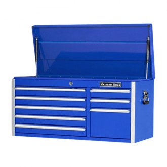 "Extreme Tools® - 41"" Standard Series 8 Drawer Blue Tool Chest"