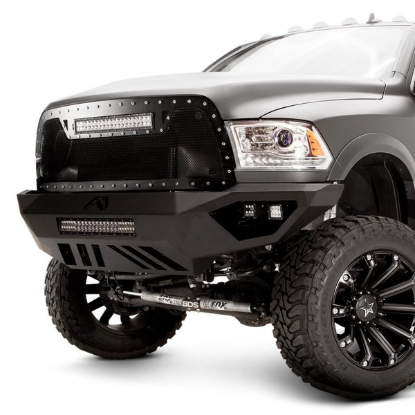 Fab Fours® - Vengeance Full Width Front HD Raw Bumper Image may not reflect your exact vehicle!