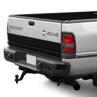 1999 dodge ram off road steel rear bumpers. Black Bedroom Furniture Sets. Home Design Ideas