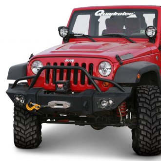 Fab Fours® - Lifestyle Full Width Front HD Bumper with Pre-Runner Guard