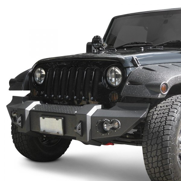 Fab Fours® - Lifestyle Full Width Front HD Raw Bumper Image may not reflect your exact vehicle!