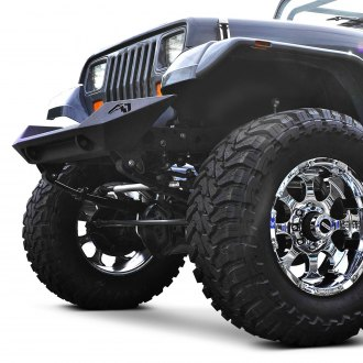 Fab Fours® - Lifestyle Stubby Front Winch HD Bumper