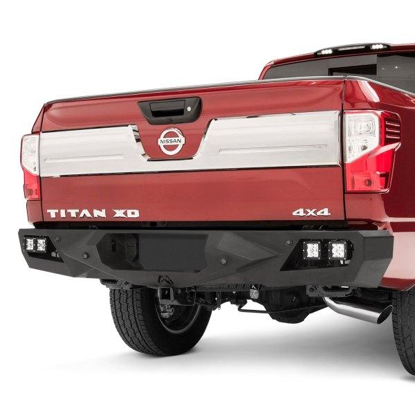 Nissan Titan XD With Rear Park Assist Sensors