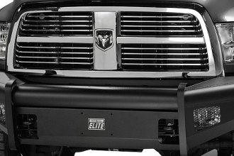Fab Fours® - Black Steel Elite Front Bumper