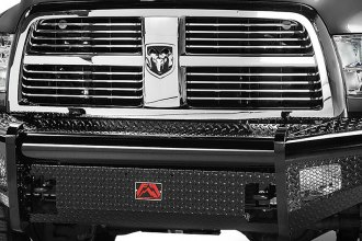 Fab Fours® - Black Steel Front Bumper