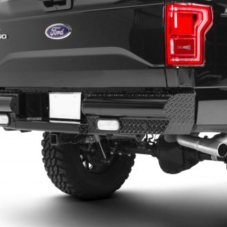 Fab Fours® - Black Steel Rear Bumper