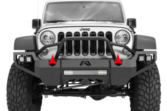 Fab Fours® - Vengeance Front Bumper With Pre-Runner Guard