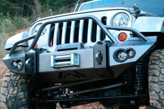 Fab Fours® - Lifestyle Front Winch Bumper With Pre-Runner Guard