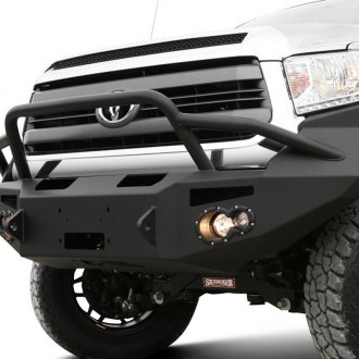 Fab Fours® - Premium Front Winch Bumper with Pre-Runner Guard