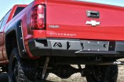 Image may not reflect your exact vehicle!Fab Fours® - Premium Bare Steel Rear Bumper