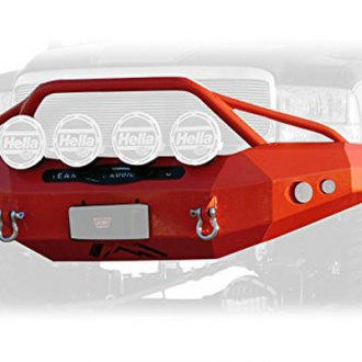 Fab Fours® - Premium Full Width Front HD Winch Bumper with Pre-Runner Guard