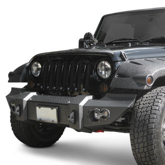Fab Fours® - Lifestyle Full Width Front Winch HD Bumper