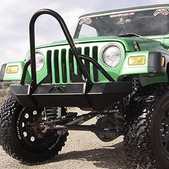 Fab Fours® - Hardcore Full Width Front HD Winch Bumper with Stinger