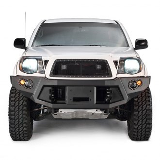 Fab Fours® - Premium Full Width Front HD Winch Bumper