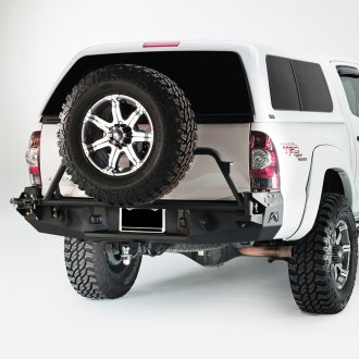 Fab Fours® - Premium Full Width Rear HD Base Bumper