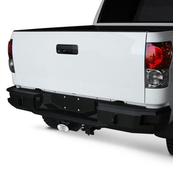 fab fours toyota tundra 2007 2013 premium full width rear hd bumper. Black Bedroom Furniture Sets. Home Design Ideas