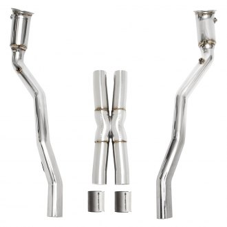 Fabspeed® - Race Exhaust System with Dual Rear Exit