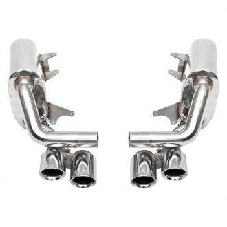 Fabspeed® - Maxflo Performance Side Exhaust System with Quad Rear Exit
