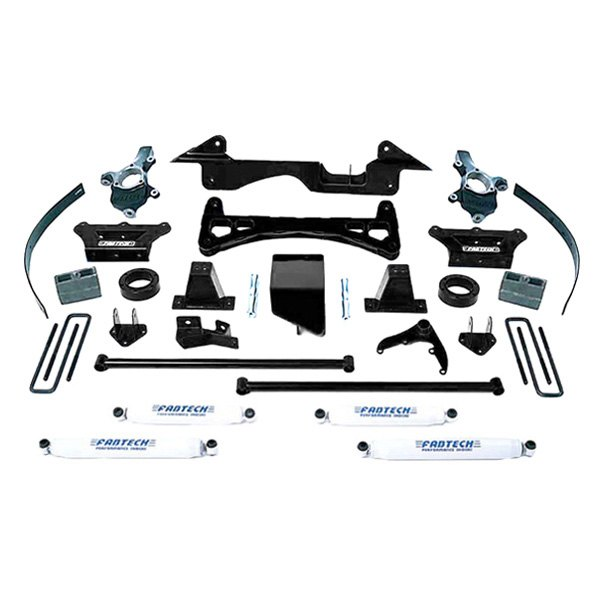 Fabtech® - Performance Front and Rear Suspension Lift Kit  sc 1 st  CARiD.com & Fabtech® - Chevy Tahoe 4 Doors 4WD 1999 6