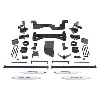 "Fabtech® - 6"" x 4"" Performance Front and Rear Suspension Lift Kit"