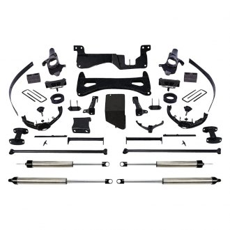 "Fabtech® - 8"" x 5""-6"" Performance Front and Rear Suspension Lift Kit"