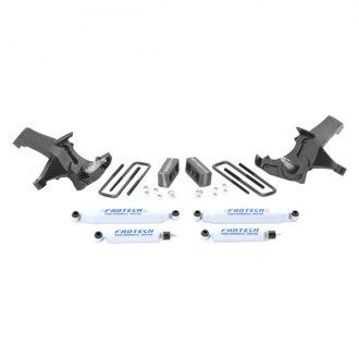 "Fabtech® - 4"" x 3"" Spindle Front and Rear Suspension Lift Kit"