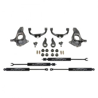 "Fabtech® - 4"" x 0"" Budget Front and Rear Suspension Lift Kit"