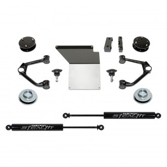 "Fabtech® - 4"" x 2"" Budget Front and Rear Suspension Lift Kit"