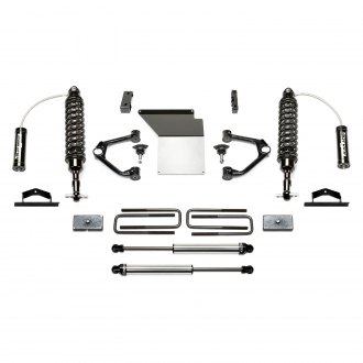 "Fabtech® - 4"" x 1.5"" Budget Front and Rear Suspension Lift Kit"