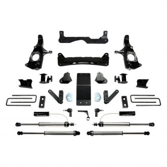 "Fabtech® - 4"" x 2"" Basic Front and Rear Suspension Lift Kit"